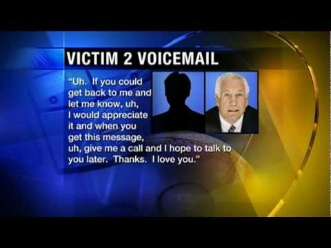 Jerry Sandusky Victim Saved Voicemail Messages