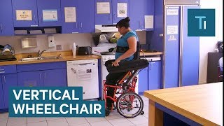 This wheelchair could let its users stand