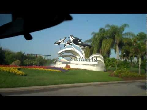 Sea World Entrance Orlando