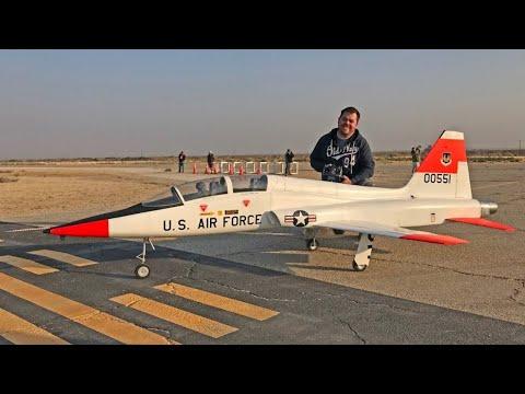 Scratch-Built Giant RC T-38 Talon (World\'s Largest EDF) - Best in ...