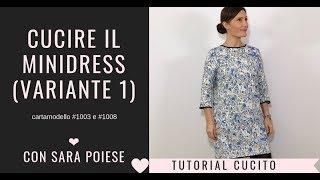Cucire il minidress con Sara Poiese