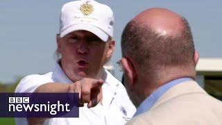 Donald Trump's business links to the mob - BBC Newsnight