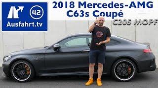 2018 Mercedes-AMG C 63 S Coupé (C205 Mopf) - Kaufberatung, Test, Review