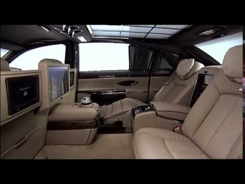 All new Maybach 62 2011 Interior