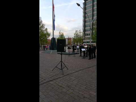 Dodenherdenking 2015 Plein '40-'45 in Amsterdam deel 3