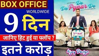 De de Pyaar de Box Office Collection Day 9,De de Pyaar de Collection,Ajay Devgn,Tabu,Rakul Preet