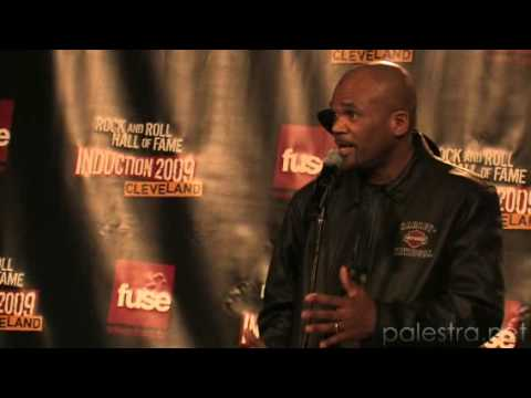 Run-DMC at the Induction Ceremony 2009