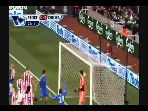 Chelsea vs Stoke City 12.01.2013 ford-a.ru (челси против сток сити 4:0)