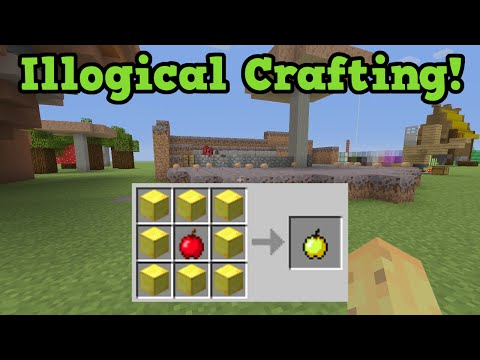 Minecraft illogical crafting recipes for Minecraft xbox one crafting recipes