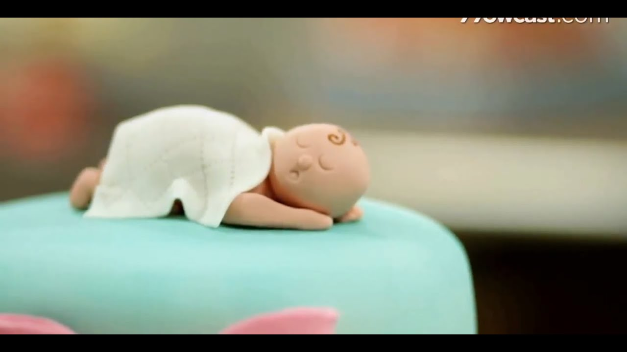 How To Shape Baby Figurine From Fondant Cake Decorations