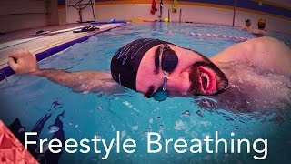 4 Breathing exercises for smooth freestyle swimming. Progressions. Beginners