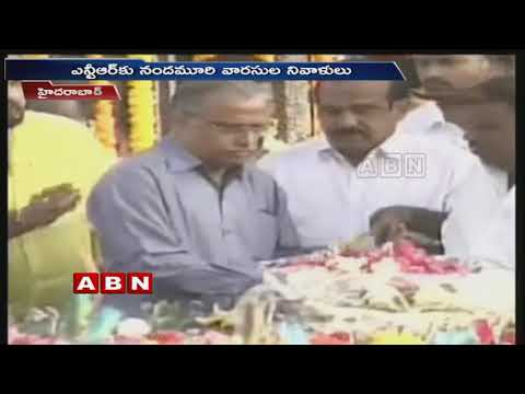 Jr NTR, Kalyan Ram and Balakrishna Pay Homage to NTR | ABN Telugu
