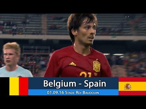 Бельгия - Испания 0:2 (товарищеский) 01.09.16 Обзор матча