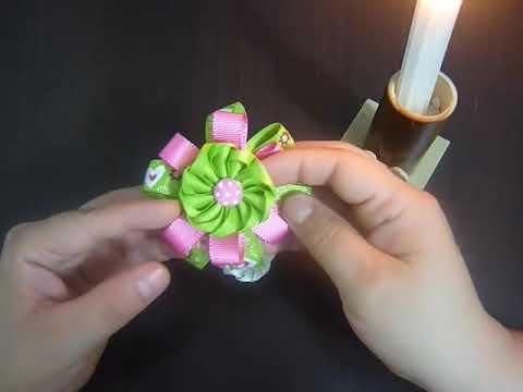 Manualidades y accesorios la hormiga. como hacer una flor en citas. video No.78