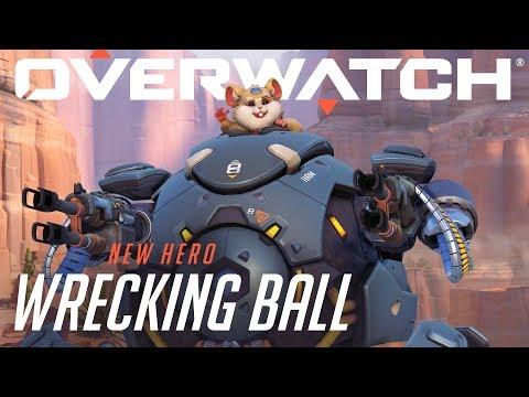 New Overwatch Hero | Wrecking Ball – Play Now!