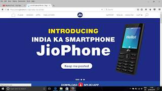 How to Register Interest in Jio Phone