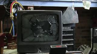 Small CRT TV Smash