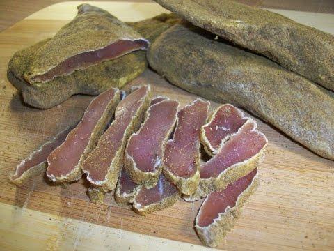 Простой рецепт бастурмы из куриных грудок (филе)