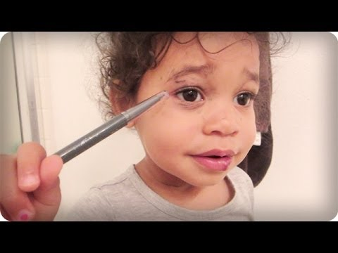 TODDLER MAKEUP TUTORIAL!!!