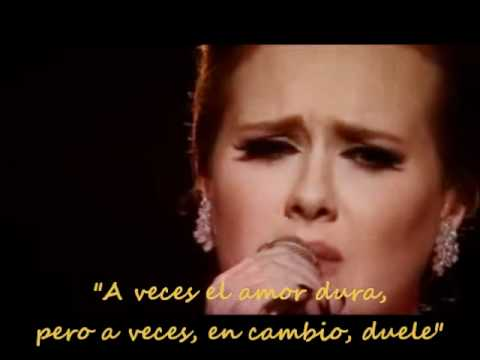Adele - Someone like you [subtitulado]