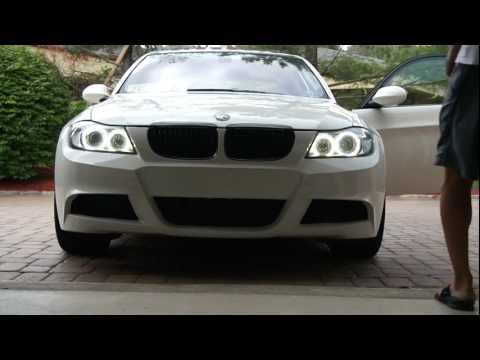 Custom E90 Ambient Light Controlledd LED Angel Eyes