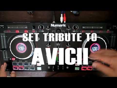 Set Tribute Avicii ◢◤ 2021 | Amaury Vega DJ |  Numark Mixtrack Platinum