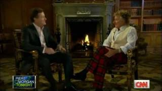 Rod Stewart on Piers Morgan Tonight (US) - Interview Part 1 of 5