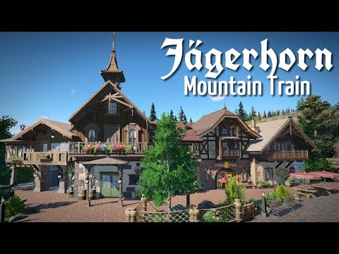 Planet Coaster - Jägerhorn (Part 8) - Alpine Village Buildings