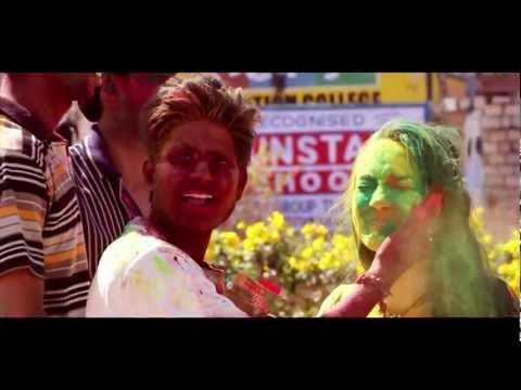 INDIA HOLI FESTIVAL of COLORS - SLOWMOTION
