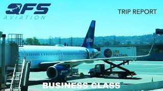 TRIP REPORT | JetBlue Airways - A321 - San Francisco (SFO) to New York (JFK) | Business Class