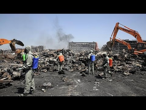 China makes arrests after Tianjin blasts