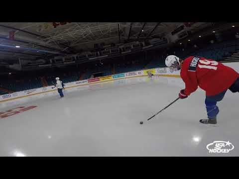2018 WJSS   Practice With Jack & Quinn Hughes