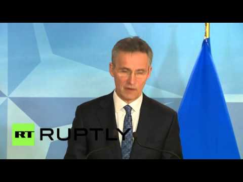 """Belgium: NATO is """"concerned by Russian build-up in Syria"""" - Stoltenberg"""