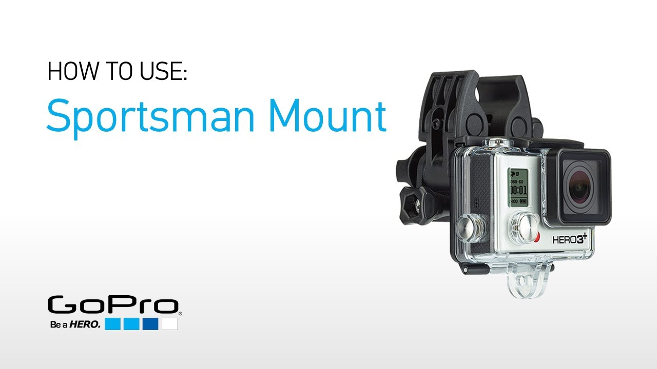 Gopro introducing the sportsman mount youtube for Gopro fishing mount