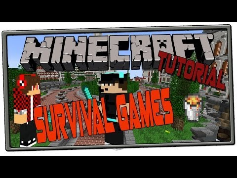 Minecraft Bukkit Plugin -  Survival Games Multiverse - Tutorial / Review