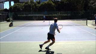 Andy Murray & Jamie Murray Practice 1