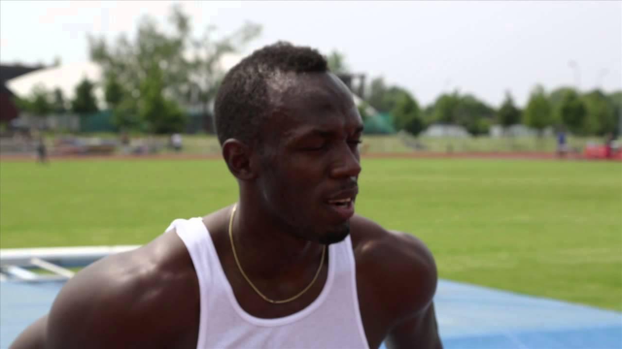 Usain Bolt Abs Workout Usain Bolt Trains in PUMA