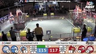 Quarterfinal 5 - 2017 Lake Superior Regional