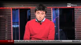 Alessandro Di Battista (candidato M5s alla Camera) a Rainews24 [8Feb2013]