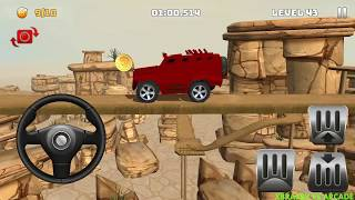 Offroad Truck Driving   Mountain Climb 4x4: RED Monster Truck Driving - Android GamePlay