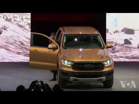 美國萬花筒:奔馳聯手施瓦辛格展示新車