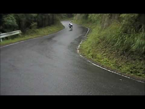 "Rain road Heel side Predrift cornering ""Issey Ohta"""