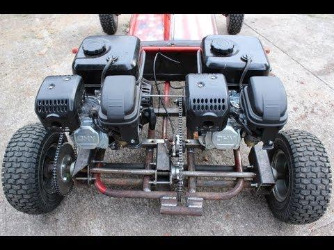 Homemade Go Kart Transmission