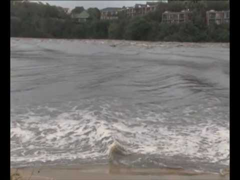 East London Nahoon River Floods