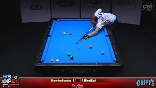 2018 US Open 8-Ball Championship: Shane Van Boening vs Eklent Kaci