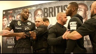 PURE BRITISH BEEF!!! - LAWRENCE OKOLIE v ISAAC CHAMBERLAIN - HEAD TO HEAD @ FINAL PRESS CONFERENCE