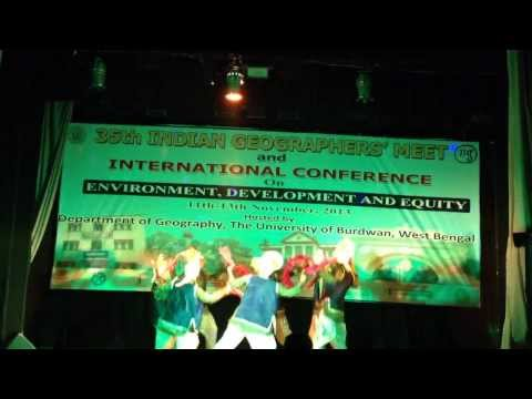 Thodi Si Dhool Meri ,35th Indian geographers' meet and international conference , Cultural programme
