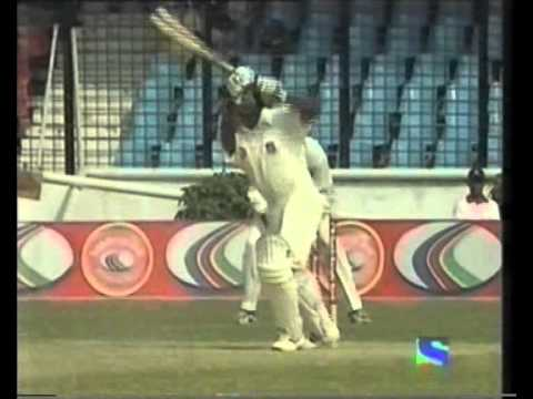 1ST EVER TEST MATCH - Bangladesh vs India 2000 Dhaka