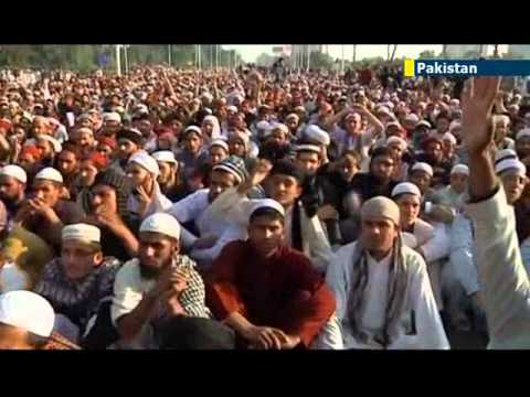 Pakistanis protest against recent rise in sectarian violence between Sunni and Shia communities