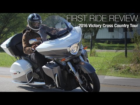 2016 Victory Cross Country Tour First Ride Review - MotoUSA